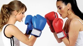 Download Lagu Taylor Swift VS Katy Perry - Battle Begins Mp3