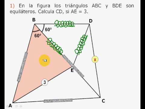 Vídeos Educativos.,Vídeos:Congruencia triángulos I