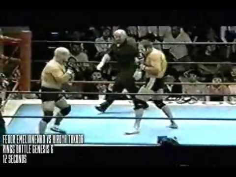 All Time MMA - Fastest Knockouts
