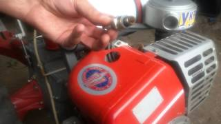 Видео замены свечей зажигания мотоблок Мотор Сич