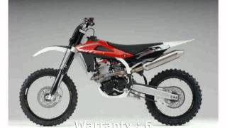 1. 2008 Husqvarna TC 450 -  Transmission Engine