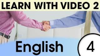 Top 20 English Verbs 2, Learn English with Video
