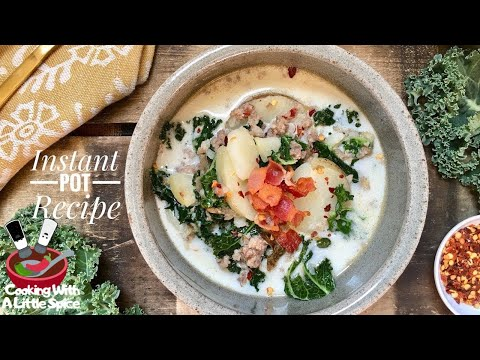 Easy Instant Pot Zuppa Toscana Soup