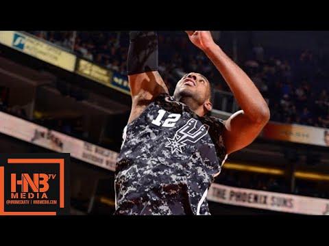 San Antonio Spurs vs Phoenix Suns Full Game Highlights / Feb 7 / 2017-18 NBA Season (видео)