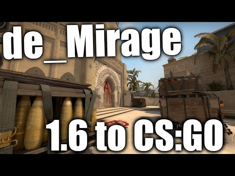 de_Mirage - from 1.6 to CS:GO - Map Development History #16