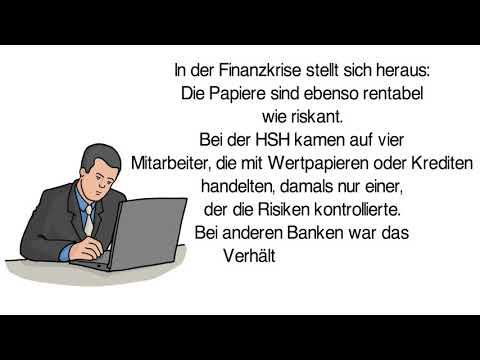 Warum ging die HSH Nordbank AG pleite?
