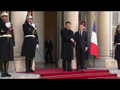 Γαλλία – Κίνα: Εμπορικές συμφωνίες δισεκατομμυρίων ευρώ…