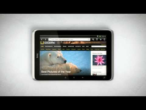 HTC Flyer Tablet - Official Promo Clip