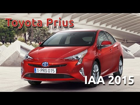 Toyota IAA Prius & RAV 4 Hybrid IAA 2015 Full Press conference
