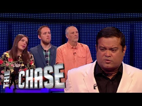 The Chase | Jessica, Ash and Richard's £20,000 Final Chase Against The Sinnerman (видео)