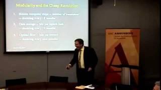 Annenberg Research Seminar - Jonathan Aronson
