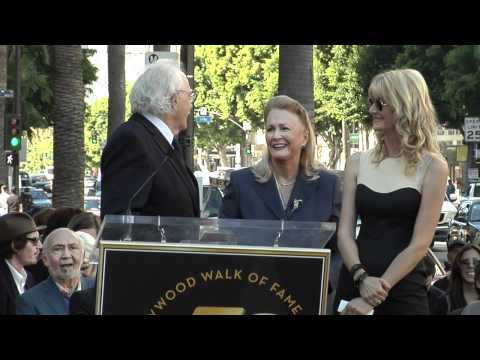 Laura Dern Walk of Fame Ceremony