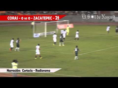 Coras FC vs Zacatepec