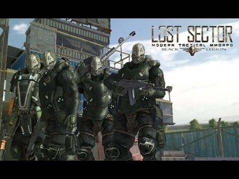 Lost Sector – многопользовательская ролевая игра с элементами тактической стратегии