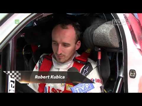 \'Fajny test\'... Kubica o pierwszym dniu zmagań