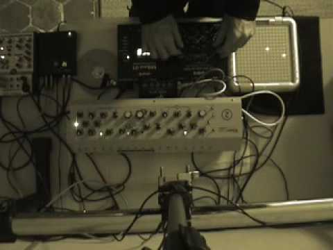 mbase01 - Blips & clicks w/ MBase 01, Filterbank 2, M-Resonator + manipulations via Korg mini KP and TENORI-ON. Contents : analog filtering, micro-pulses, blips & clic...