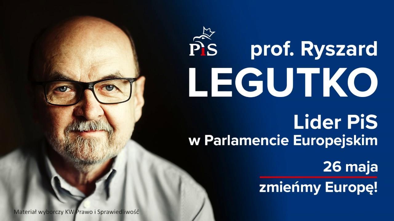 Jarosław Kaczyński o prof. Ryszardzie Legutce