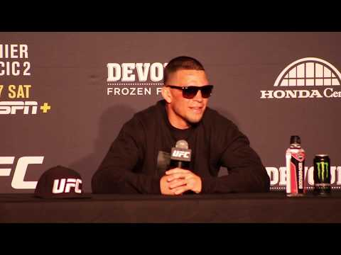UFC 241: Nate Diaz Claims He Doesn't Know Who Colby Covington Is