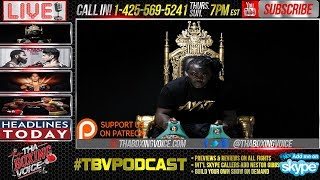 Another flagship show of ThaBoxingVoice. Today's topics are: Bermane Stiverne has allegedly missed a drug test. Will this hurt...