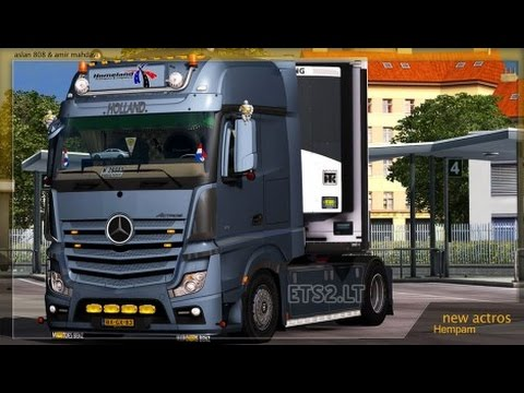 Mercedes Actros MP4 Tuning Mod