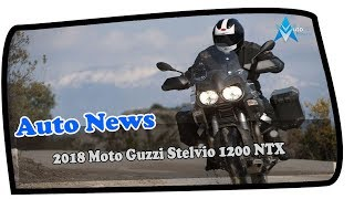 3. HOT NEWS!!!2018 Moto Guzzi Stelvio 1200 NTX Engine and Price Overview Price & SPec