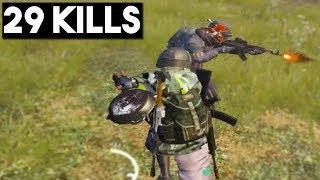 Video BEST PAN KILL EVER! | 29 KILLS Duo vs Squad | PUBG Mobile MP3, 3GP, MP4, WEBM, AVI, FLV Januari 2019