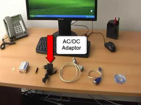 How to send SMS with Wavecom Fastrack GSM modem using USB cable