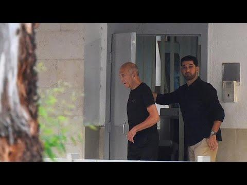 Ισραήλ: Αποφυλακίστηκε ο Εχούντ Ολμέρτ