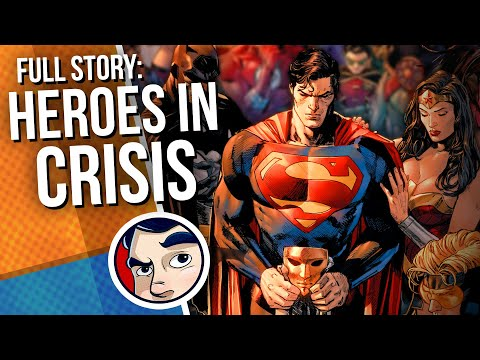 """Heroes in Crisis """"Death of the Flash"""" - Full Story 