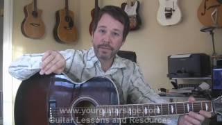 Harpsichord Technique - Fingerpicking Guitar Lesson for Beginners