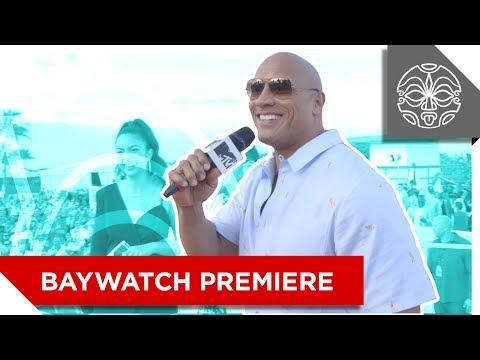 """Dwayne """"The Rock"""" Johnson's Miami Beach Takeover"""