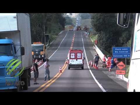 Acidente envolvendo quatro veículos deixa feridos na BR 116