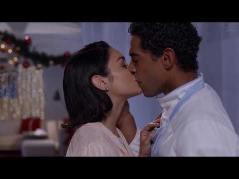 Kiss Scene Vanessa Hudgens and Nick Sagar The Princess Switch
