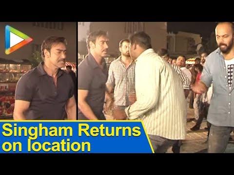 Singham Returns: Exclusive on location in Hyderaba