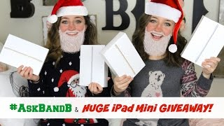#AskBandB + HUGE iPad Giveaway!