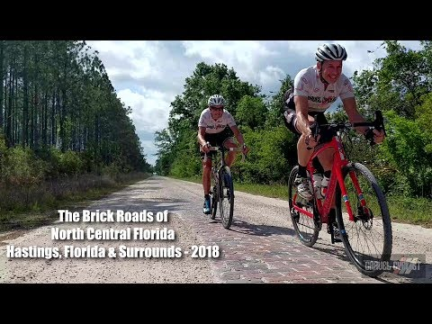 Riding the Historic Brick Roads of North Central Florida!