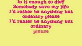 Video Anything But Ordinary by Avril Lavigne(With Lyrics in Video) MP3, 3GP, MP4, WEBM, AVI, FLV Juli 2018