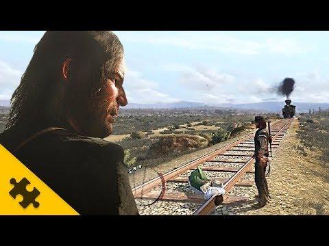 Red Dead Redemption 2 - ДЕМКА 45 МИНУТ!! Мясо протухает, ЛАГЕРЬ, ГРАБЕЖИ, ФИЗИКА - инфа от IGN