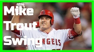 Mike Trout | Swing Like the Greats