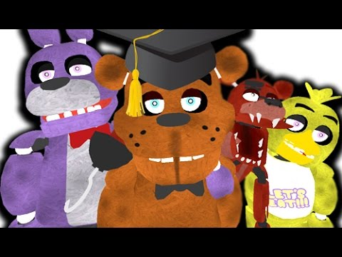 FUNNY Five Nights At Freddy's HIGHSCHOOL Gmod Roleplay Mod (Garry's Mod)