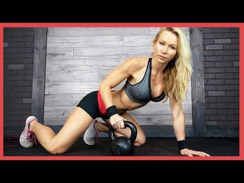 5 minute - Get your kettlebell ready for this high intensity workout. http://www.ZuzkaLight.com http://www.Facebook.com/ZuzkaLight.