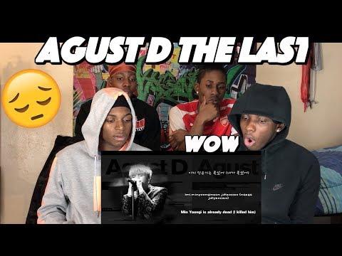 BTS Suga (AGUST D) - The Last 마지막 - REACTION