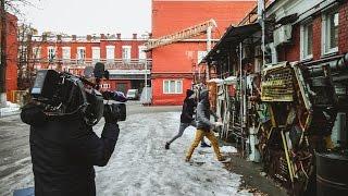 Backstage со съемок на Первом канале