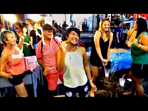 Discount Travel Party – Walking Street Lamai Beach, Koh Samui, Thailand (Part 3 – Oct / Nov 2014)