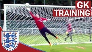 Triple shot stop & diving saves - Hart, Forster & Heaton (Euro 2016) | Inside Training