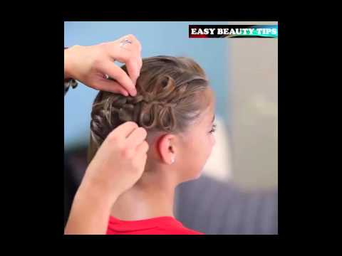 How to Create a Diagonal Bow Braid (видео)