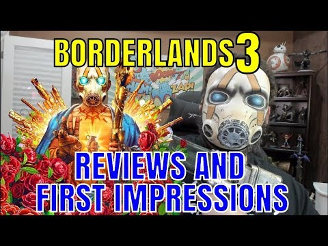Looking At Borderlands 3 Reviews and First Impressions