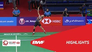 Perodua Malaysia Masters 2018  | Badminton WS - QF - Highlights | BWF 2018
