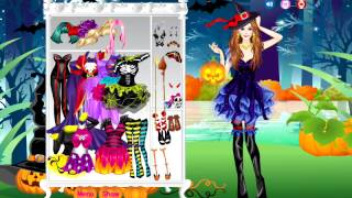 Beautiful Witch Dress Up Games YouTube video