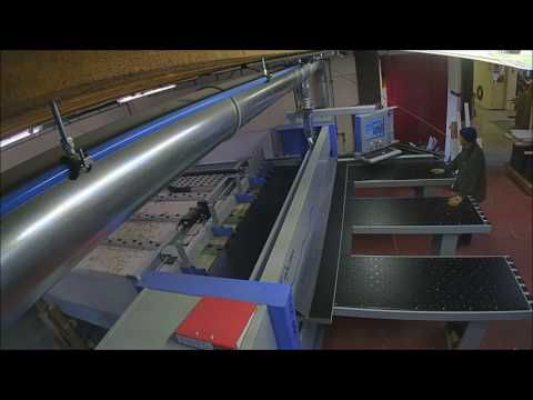 Neville Joinery - New Beam Saw in Action